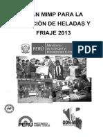 Plan Heladas y Friaje 2013