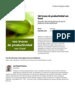 100 Trucos de Productividad Con Excel by Blade