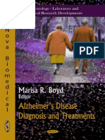 Alzheimer's Disease Diagnosis and Treatments - M. Boyd (Nova, 2011) BBS