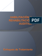 11 - Habilitación y Rehabilitación Auditiva