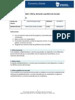 MIII - U2 - Actividad 1. Oferta, Demanda y Equilibrio de Mercado