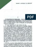 Gramsci, Antonio_La formación de los intelectuales