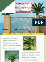 Decoracion de Jardines Con Palmeras