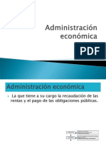 Administración económica
