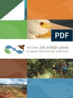 Natl Fish Wildlife Plants Climate Adaptation Strategy