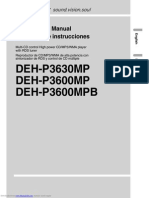 Deh p3600mp Manual