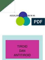 Tiroid Dan Antitiroid