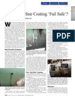 Is Your Pipeline Coating Fail Safe 2006