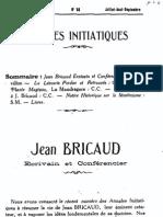 8 Jean Bricaud Ecrivain Et Conferencier