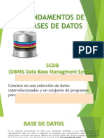 Presentacion1 - Fundamentos Bases de DatosUPL