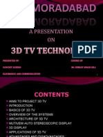 3d Tv Technology new
