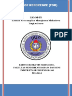 Term of Reference Lkmm-td