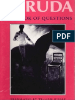 Book of Questions (Copper Canyon, 1991) - Pablo Neruda