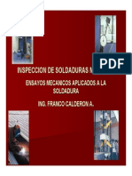 Ensayos Destructivos y Calificacion