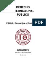 TP - Fallo - Ekmekdjian c Sofovich