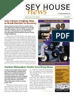 Odyssey House News, Fall 2008 edition