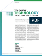 The Banker Magazine Technology Projects of the Year Award