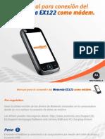 Manual Para La Conexion Del Motorola Ex122 Como Modem