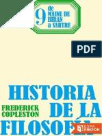 De Maine de Biran a Sartre - Copleston, Frederick