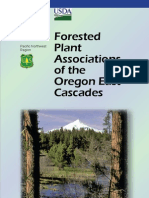 Forested Plant Associations of the Oregon East Cascades