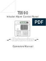 Menvier TS-590 Operators Manual