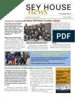 Odyssey House News, Spring 2009 edition