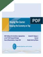 2015 Budget BSP Presentation