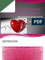Miocardio Hibernado Miocardio Atontado