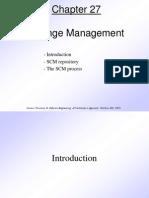 Pressman Ch 27 Change Management
