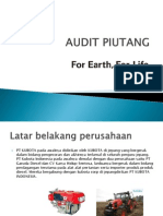 Audit Piutang