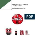 Ejemplo Plan de Marketing Coca-Cola - Lectura Complementaria
