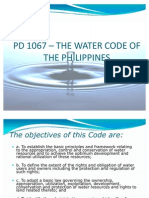 Water Code of the Philippines