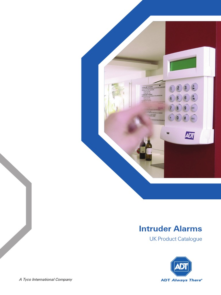 ADT Intrusion Alarm Catalogue | Relay | Battery (Electricity)