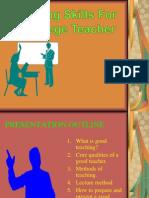 teachingskills PPTS2