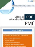 Cambios Entre PMBOK y PMBOK 5