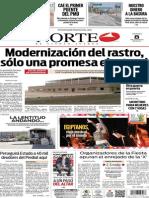 Periódico Norte edición del día 8 de agosto de 2014