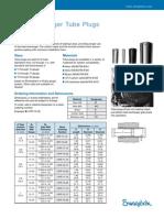 Heat Exchanger Tube Plug for Small Diameter