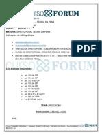 Turmão Federal 2013 - Manhã - Presencial - Direito Penal - Teoria Da Pena - Aula 11 -24.06.2013