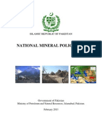 National Minral Policy 2013