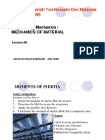 Mechanics of Material-Moments of Inertia