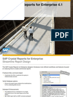 Crystal for Enterprise 41 - Whats New