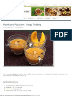Mambazha Payasam _ Mango Pudding r