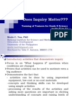 Does Inquiry Matter2