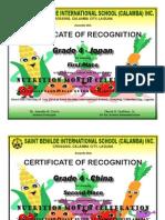 Nutrition Month Certif