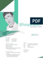 Portfolio - Haqqi - Graphic Designer