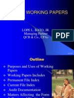 Audit Working Papers-2