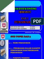 mikroekonomi (penawaran)