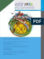 Buletin TRP Edisi I Tahun 2014. Menyusun Babak Baru Pembangunan Bidang Tata Ruang dan Pertanahan
