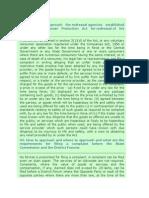 FAQ, Consumer Protection Act