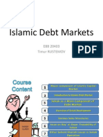 Islamic Debt Markets